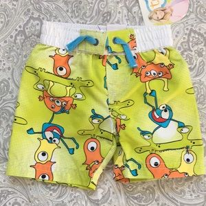 🎉HP🎉 NWT, Newborn swim trunks